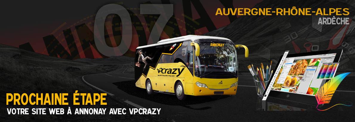 Meilleure agence de conception de sites Internet Annonay 7100