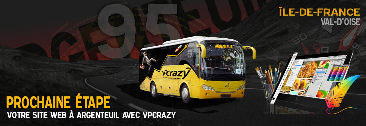 Meilleure agence de conception de sites Internet Argenteuil 95100