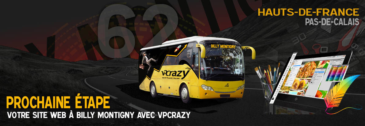 Meilleure agence de conception de sites Internet Billy-Montigny 62420