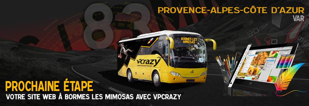 Meilleure agence de conception de sites Internet Bormes-les-Mimosas 83230