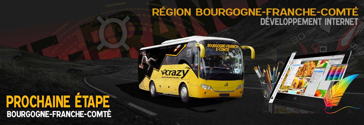 Meilleure agence de conception de sites Internet Bourgogne-Franche-Comté