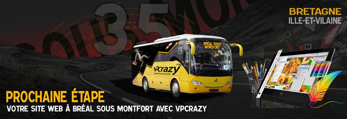 Meilleure agence de conception de sites Internet Bréal-sous-Montfort 35310