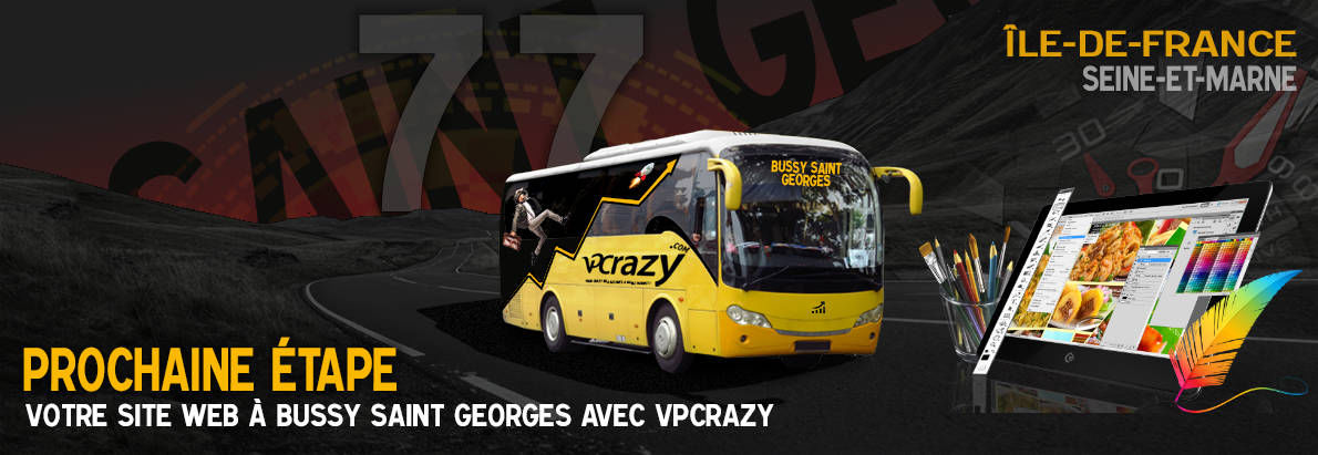Meilleure agence de conception de sites Internet Bussy-Saint-Georges 77600