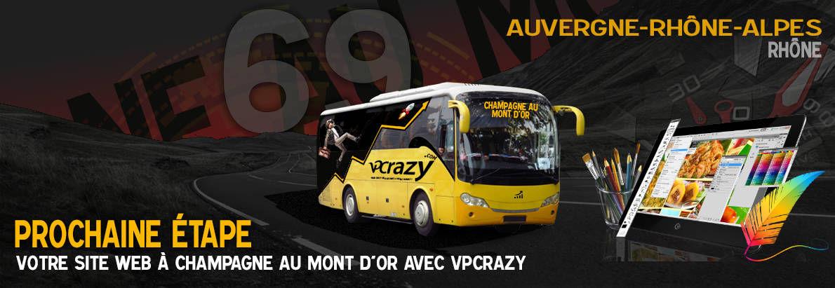 Meilleure agence de conception de sites Internet Champagne-au-Mont-d'Or 69410