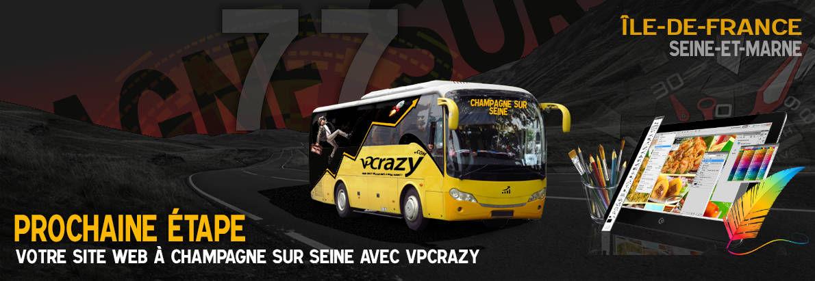 Meilleure agence de conception de sites Internet Champagne-sur-Seine 77430