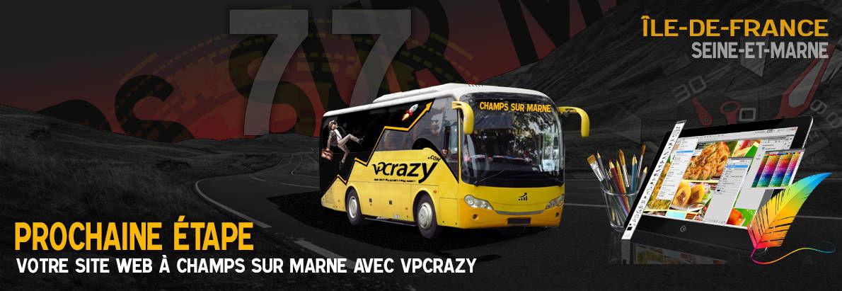 Meilleure agence de conception de sites Internet Champs-sur-Marne 77420
