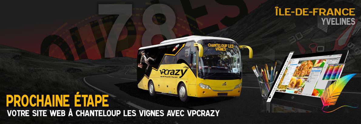 Meilleure agence de conception de sites Internet Chanteloup-les-Vignes 78570