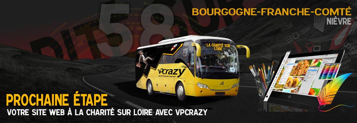 Meilleure agence de conception de sites Internet La Charité-sur-Loire 58400