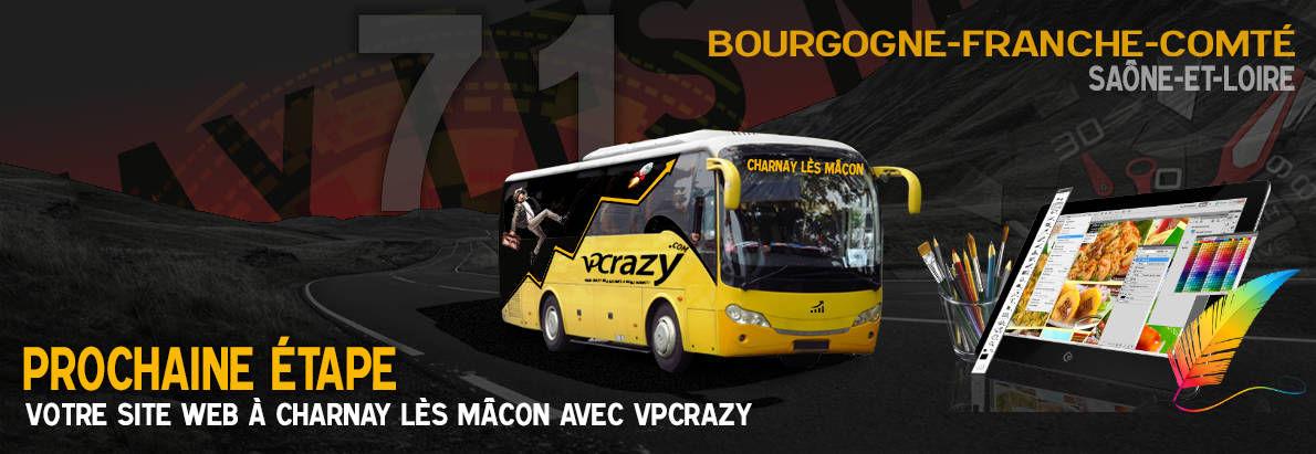Meilleure agence de conception de sites Internet Charnay-lès-Mâcon 71350