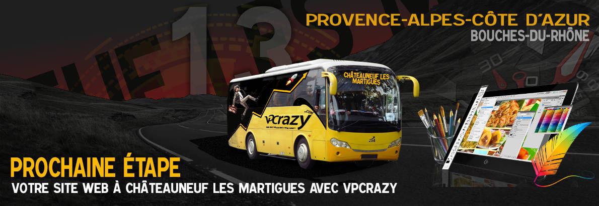 Meilleure agence de conception de sites Internet Châteauneuf-les-Martigues 13220