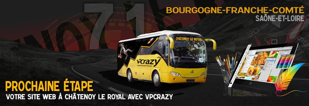 Meilleure agence de conception de sites Internet Châtenoy-le-Royal 71880
