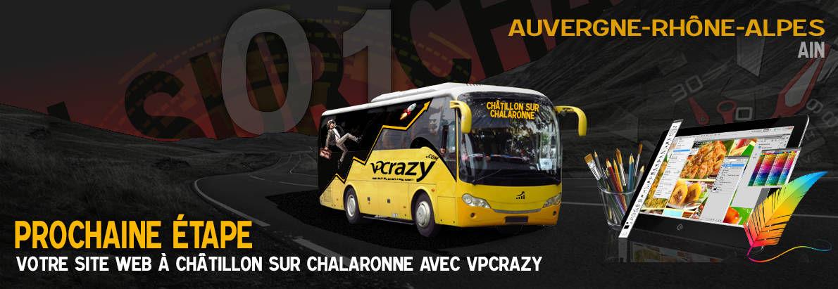 Meilleure agence de conception de sites Internet Châtillon-sur-Chalaronne 1400