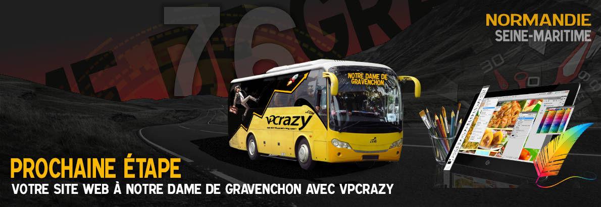 Meilleure agence de conception de sites Internet Notre-Dame-de-Gravenchon 76330