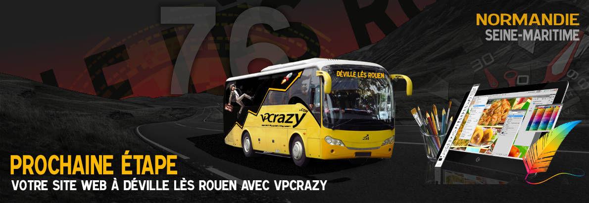 Meilleure agence de conception de sites Internet Déville-lès-Rouen 76250