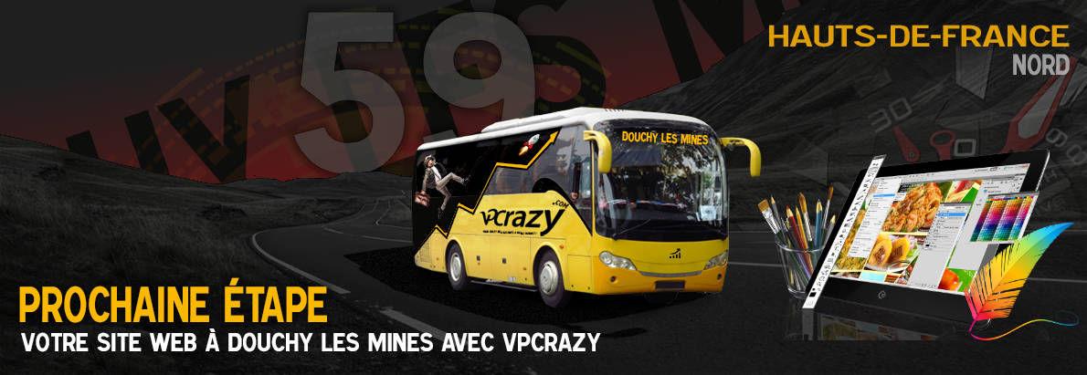 Meilleure agence de conception de sites Internet Douchy-les-Mines 59282