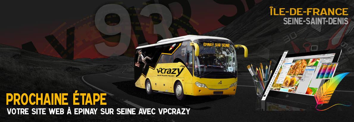 Meilleure agence de conception de sites Internet Epinay-sur-Seine 93800