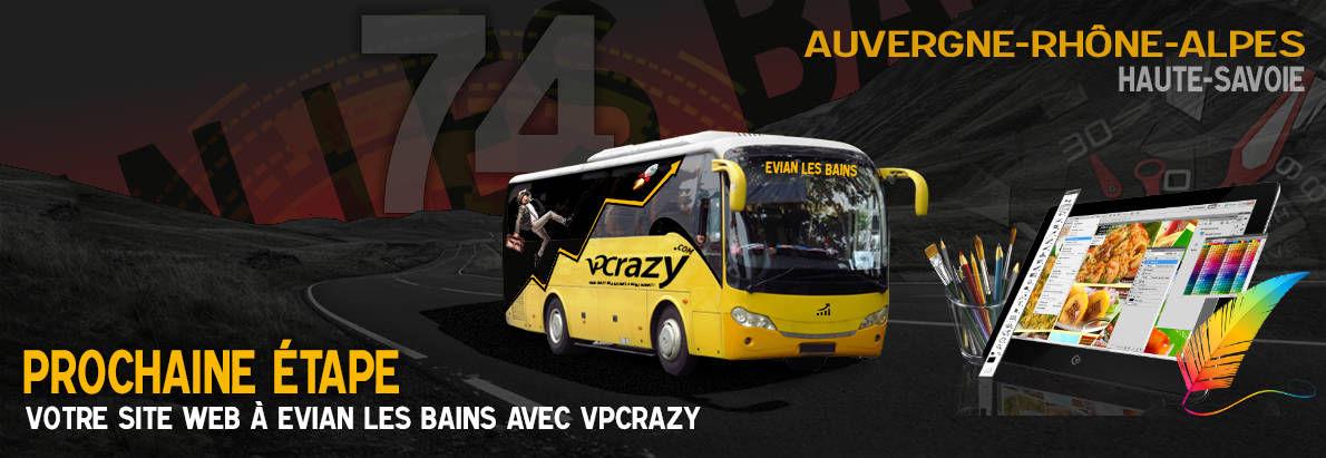 Meilleure agence de conception de sites Internet Evian-les-Bains 74500