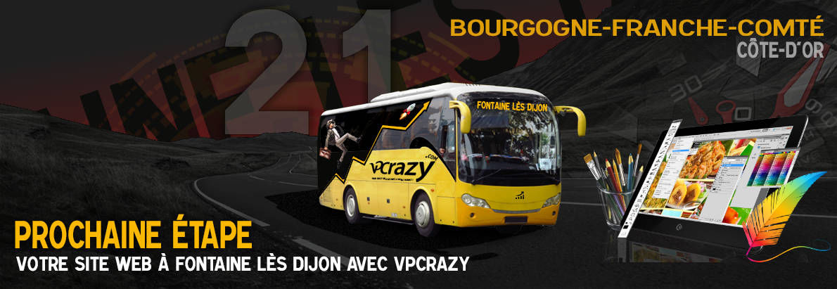 Meilleure agence de conception de sites Internet Fontaine-lès-Dijon 21121