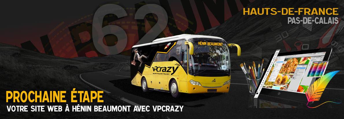 Meilleure agence de conception de sites Internet Hénin-Beaumont 62110