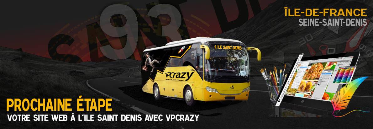 Meilleure agence de conception de sites Internet L'Ile-Saint-Denis 93450