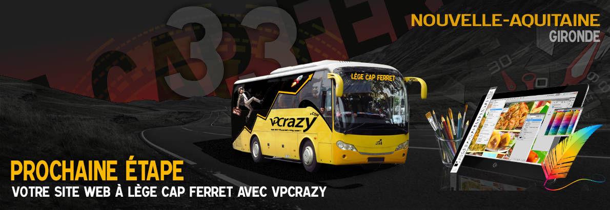 Meilleure agence de conception de sites Internet Lège-Cap-Ferret 33950