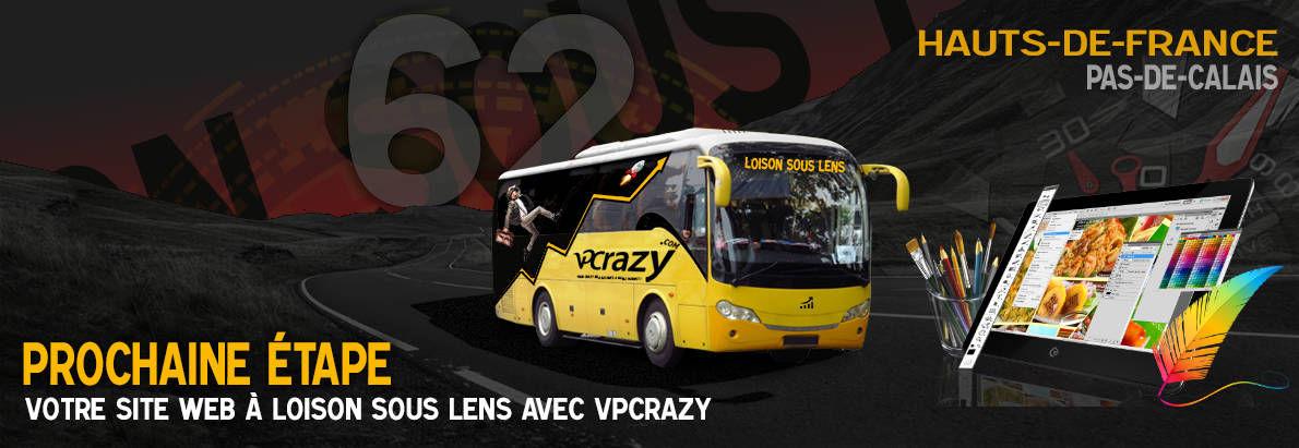 Meilleure agence de conception de sites Internet Loison-sous-Lens 62218