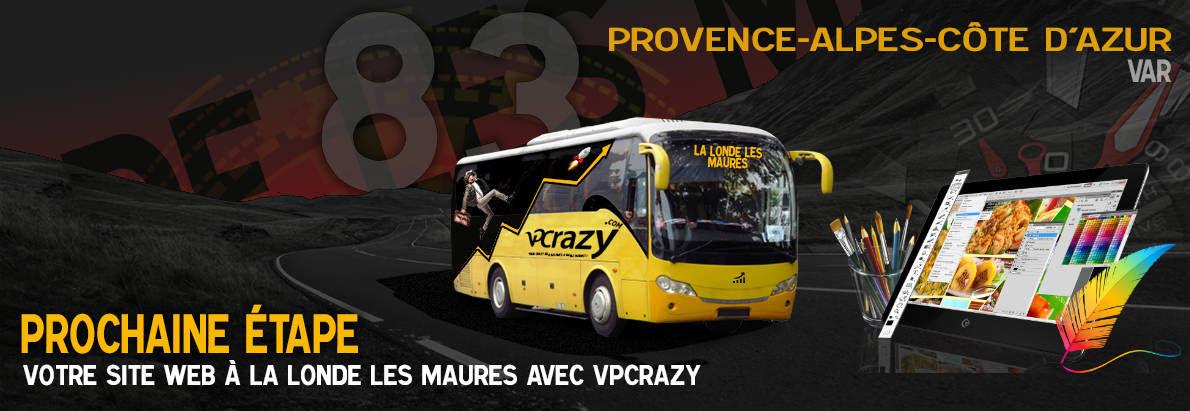 Meilleure agence de conception de sites Internet La Londe-les-Maures 83250
