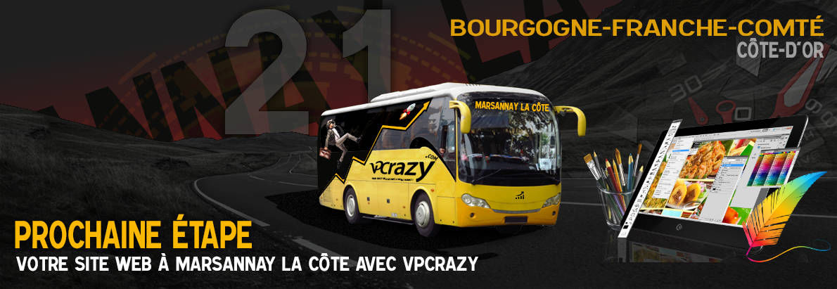 Meilleure agence de conception de sites Internet Marsannay-la-Côte 21160