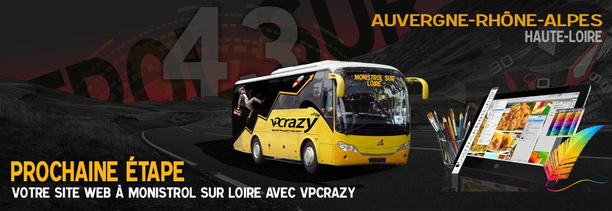 Meilleure agence de conception de sites Internet Monistrol-sur-Loire 43120