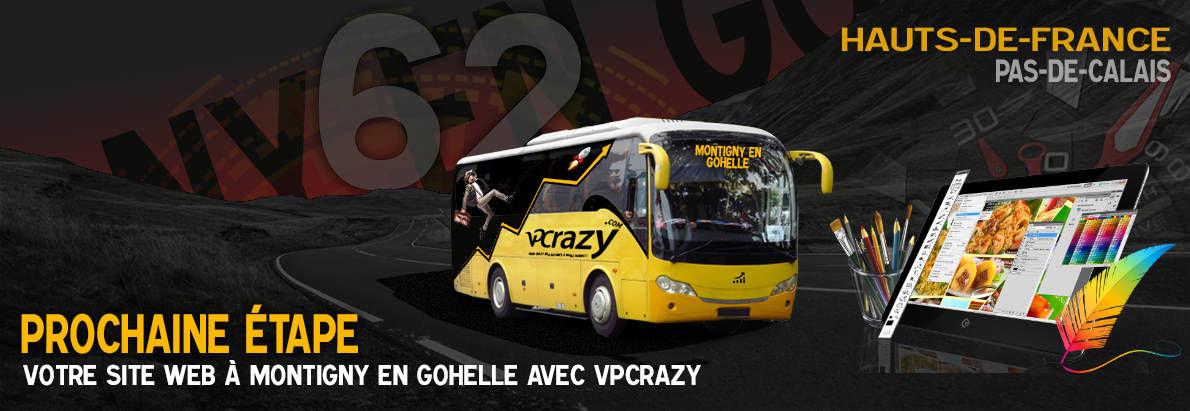 Meilleure agence de conception de sites Internet Montigny-en-Gohelle 62640