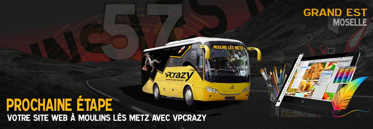 Meilleure agence de conception de sites Internet Moulins-lès-Metz 57160