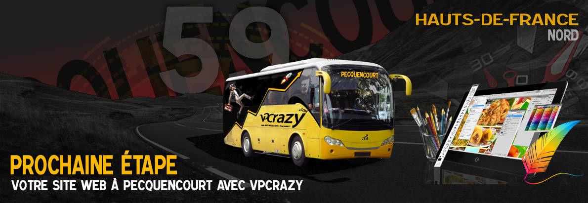 Meilleure agence de conception de sites Internet Pecquencourt 59146