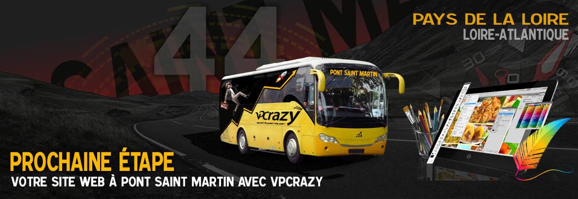 Meilleure agence de conception de sites Internet Pont-Saint-Martin 44860