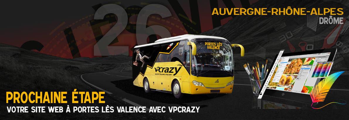 Meilleure agence de conception de sites Internet Portes-lès-Valence 26800