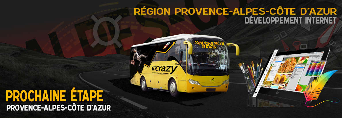 Meilleure agence de conception de sites Internet Provence-Alpes-Côte d'Azur
