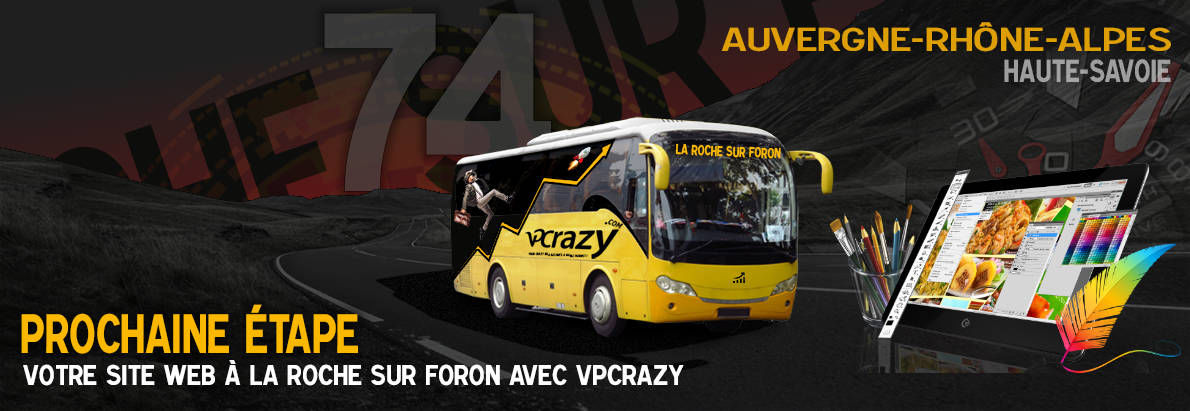 Meilleure agence de conception de sites Internet La Roche-sur-Foron 74800