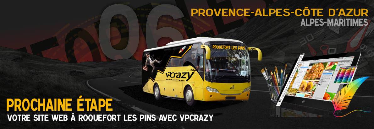 Meilleure agence de conception de sites Internet Roquefort-les-Pins 6330