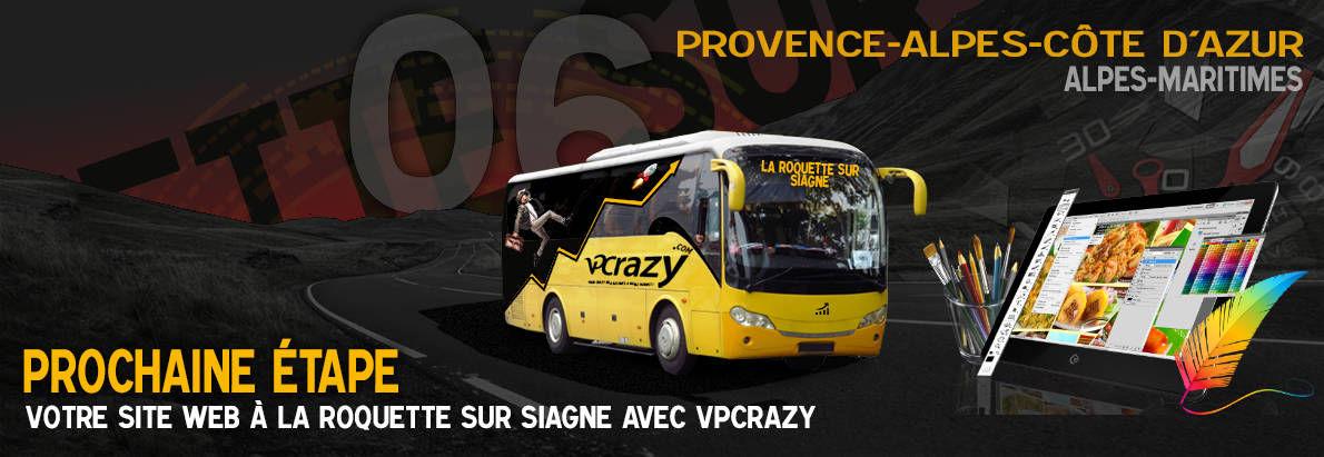 Meilleure agence de conception de sites Internet La Roquette-sur-Siagne 6550