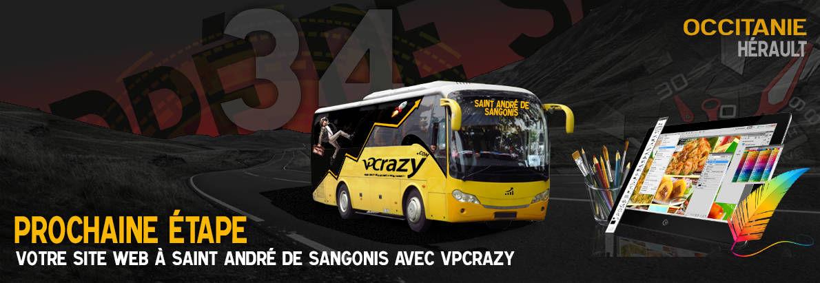 Meilleure agence de conception de sites Internet Saint-André-de-Sangonis 34725