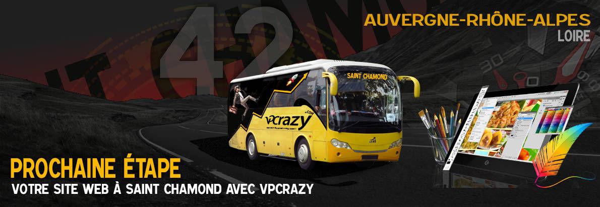 Meilleure agence de conception de sites Internet Saint-Chamond 42400