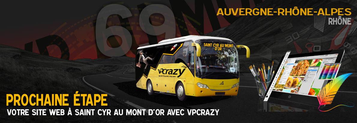 Meilleure agence de conception de sites Internet Saint-Cyr-au-Mont-d'Or 69450