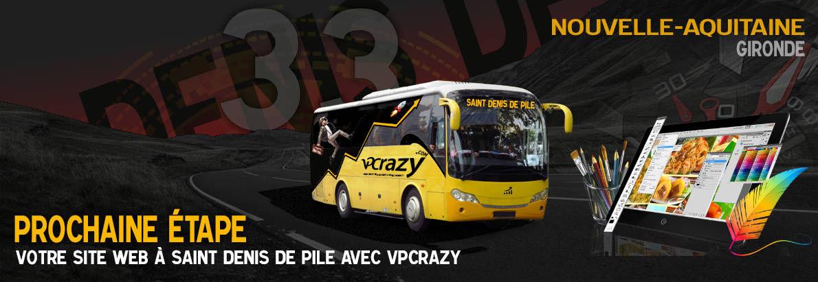 Meilleure agence de conception de sites Internet Saint-Denis-de-Pile 33910