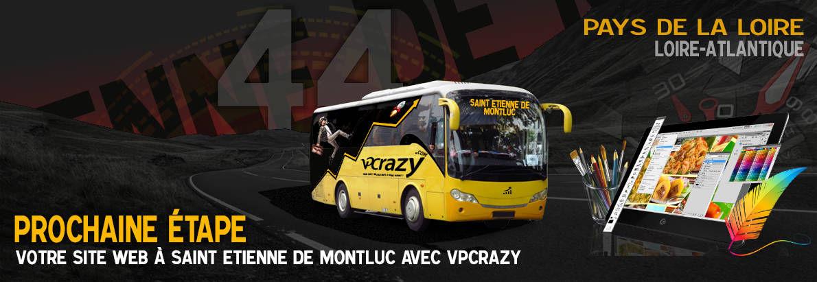 Meilleure agence de conception de sites Internet Saint-Etienne-de-Montluc 44360