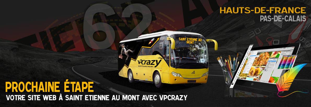 Meilleure agence de conception de sites Internet Saint-Etienne-au-Mont 62360