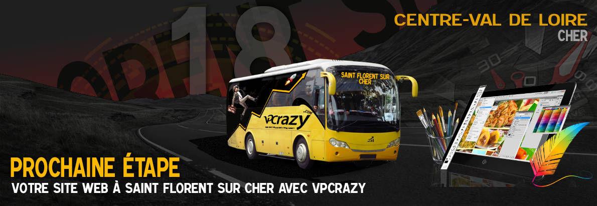 Meilleure agence de conception de sites Internet Saint-Florent-sur-Cher 18400