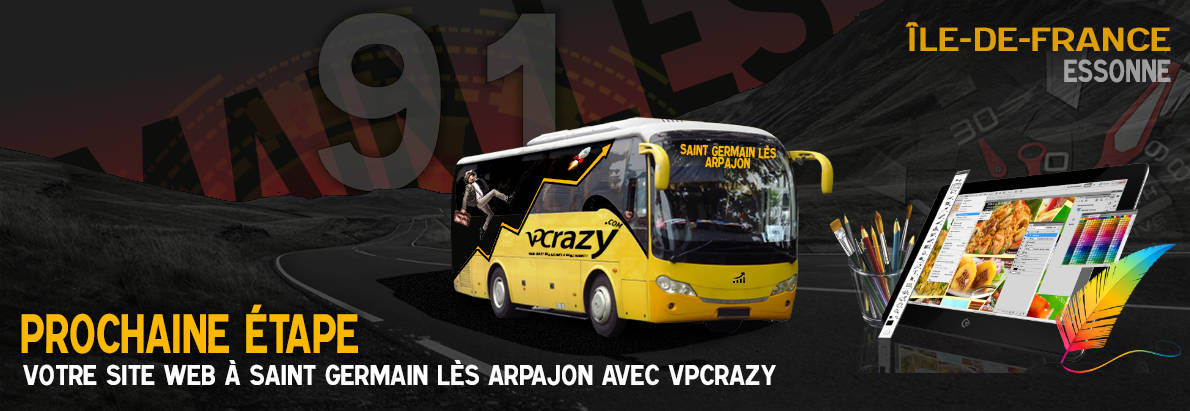 Meilleure agence de conception de sites Internet Saint-Germain-lès-Arpajon 91180