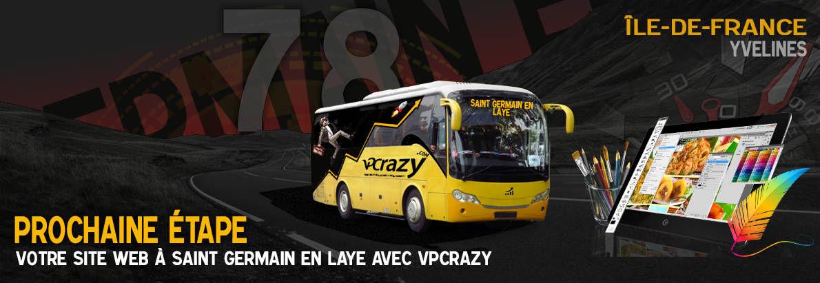 Meilleure agence de conception de sites Internet Saint-Germain-en-Laye 78100