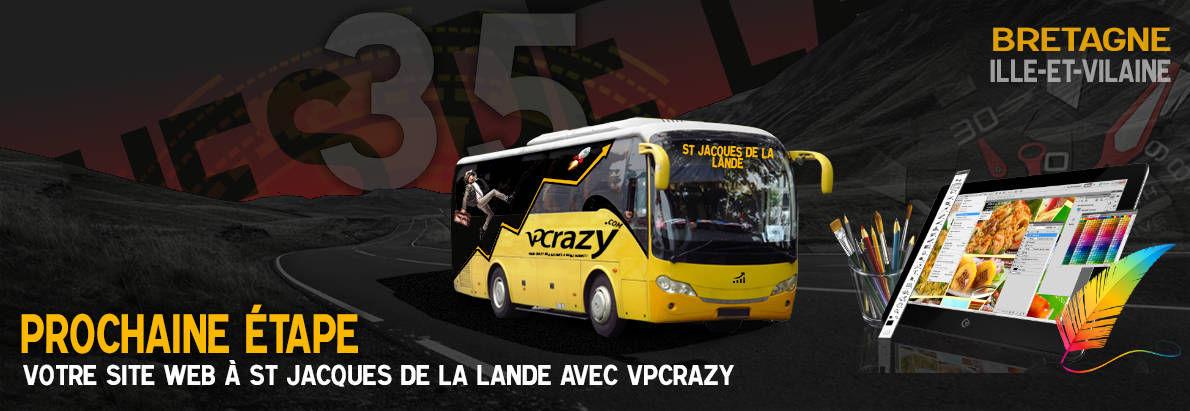 Meilleure agence de conception de sites Internet Saint-Jacques-de-la-Lande 35136