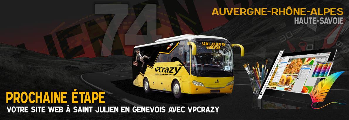 Meilleure agence de conception de sites Internet Saint-Julien-en-Genevois 74160