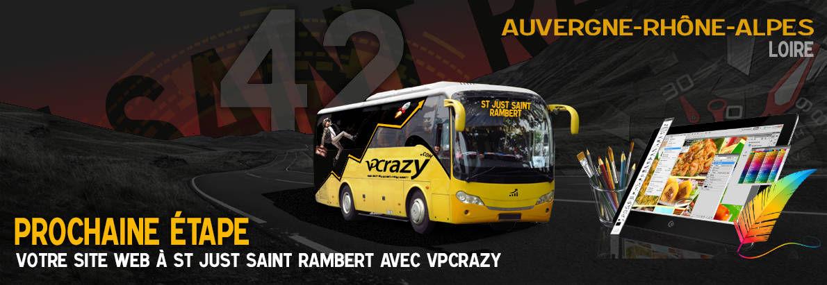 Meilleure agence de conception de sites Internet Saint-Just-Saint-Rambert 42170